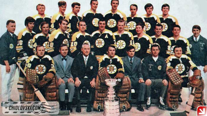 Boston Bruins, 1970-71 | Chidlovski BackUp