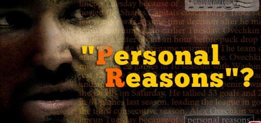 ovi-personal-reasons