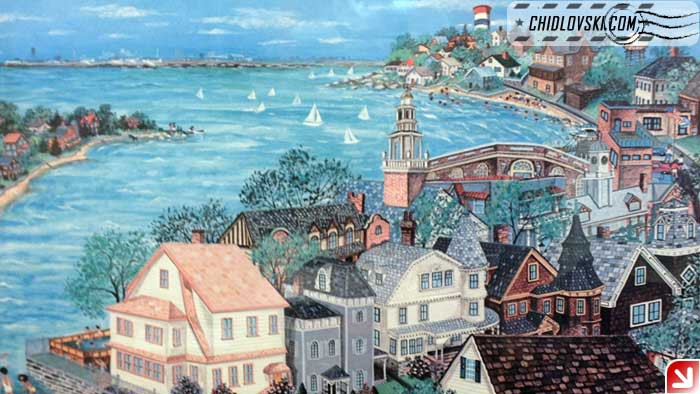 my-town-painting