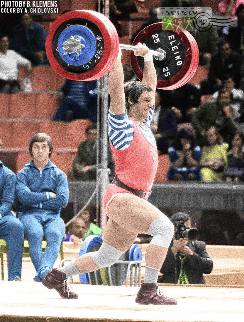Rigertomania in Hungary: Olympic Champion Peter Baczako