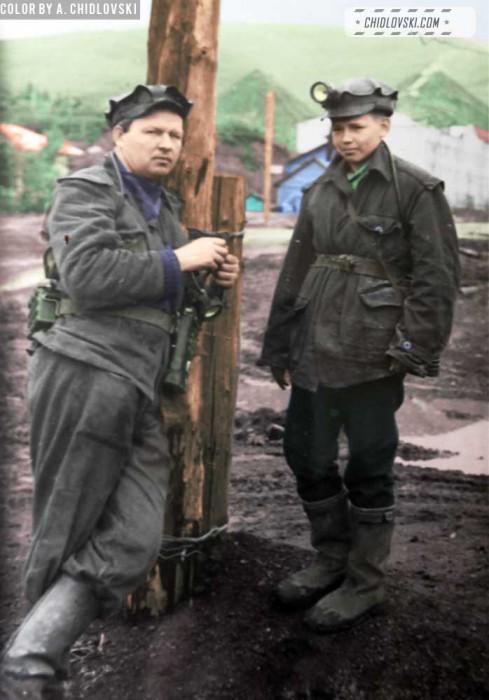 sleznevy-coal-miners